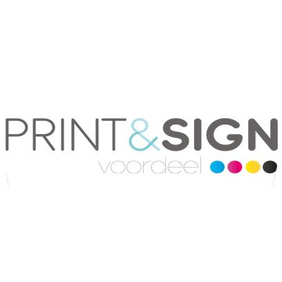 print en sign voordeel