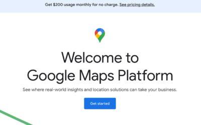Hoe een Google Maps API key aanvragen